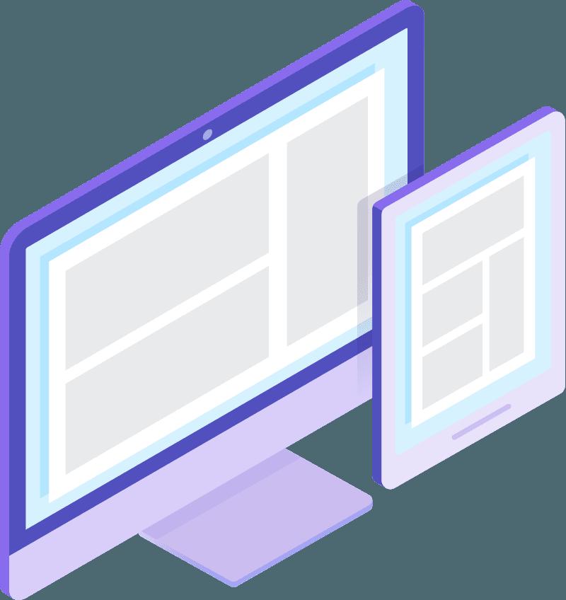 Ecommerce Automático - coding isometric 04