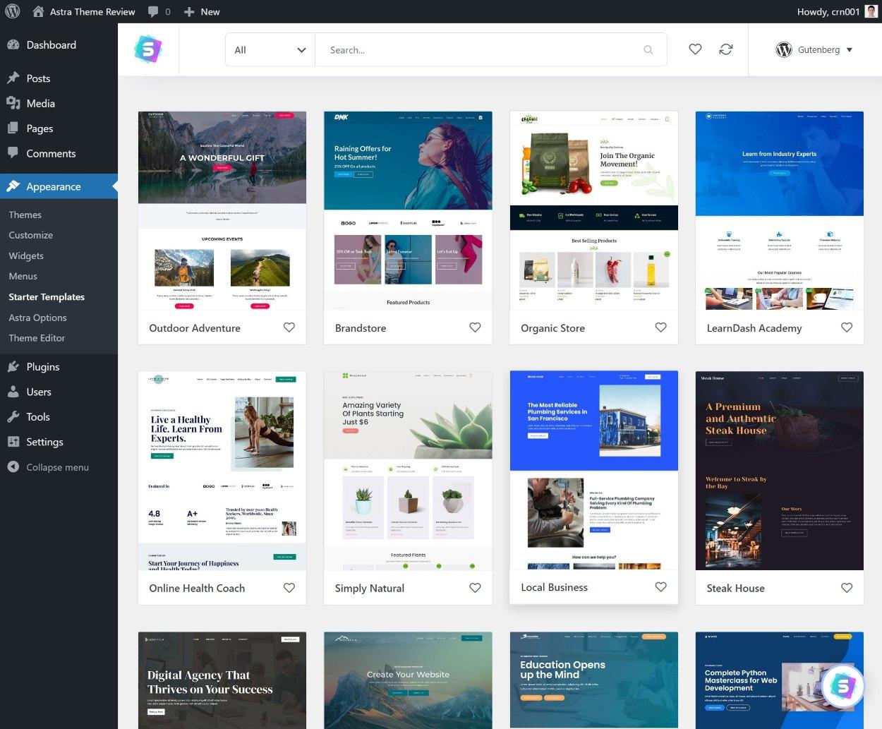 Revisión del tema Astra: ¿es el mejor tema de WordPress de 2021? - 1630926987 210 Revision del tema Astra ¿es el mejor tema de WordPress