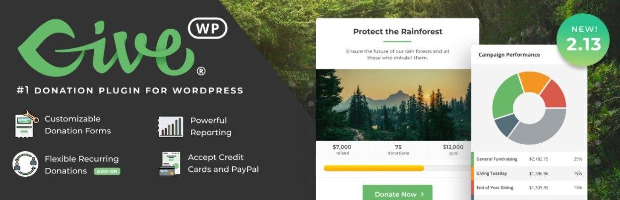 Los 8 mejores complementos de donación de WordPress para recaudación de fondos y más (2021) - Los 8 mejores complementos de donacion de WordPress para recaudacion