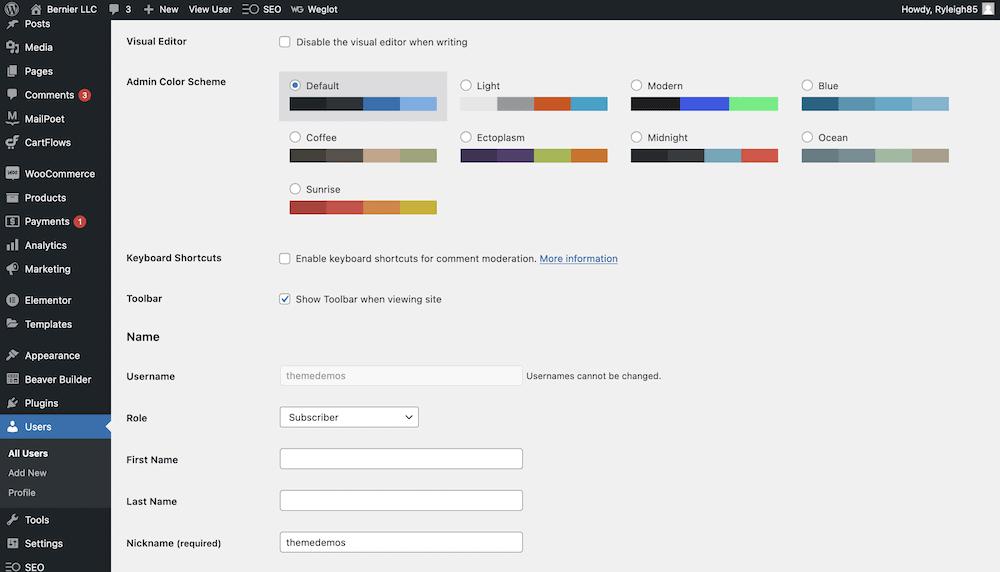 Roles de usuario de WordPress: cómo crear y administrar sus usuarios - 1633349902 199 Roles de usuario de WordPress como crear y administrar sus