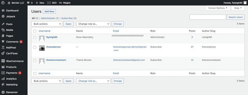 Roles de usuario de WordPress: cómo crear y administrar sus usuarios - 1633349902 727 Roles de usuario de WordPress como crear y administrar sus