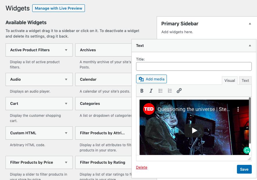 Cómo incrustar un video de YouTube en WordPress (6 métodos) - 1633848673 975 Como incrustar un video de YouTube en WordPress 6 metodos